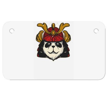 Samurai Panda Funny T Shirts Motorcycle License Plate Designed By Garrys4b4