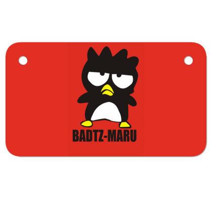 Santrio Badz Maru Motorcycle License Plate Designed By Garrys4b4