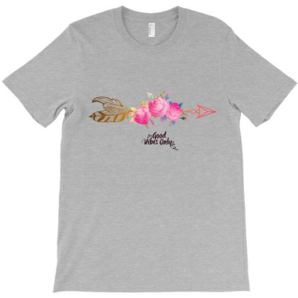 Good Vibes Only T-shirt Designed By Dev18