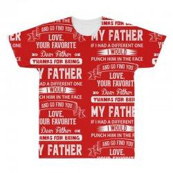 Dear Father, Love, Your Favorite All Over Men's T-shirt | Artistshot