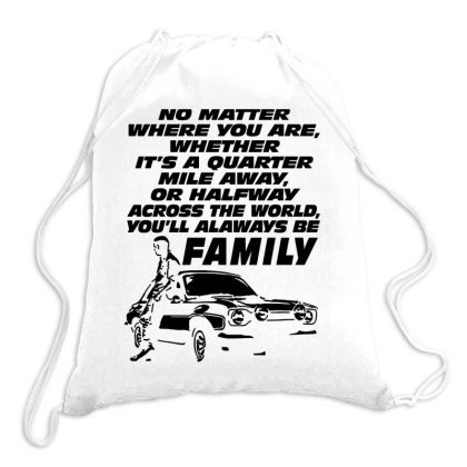No Matter Where You Are Drawstring Bags Designed By Scarlettzoe