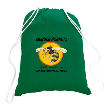 Bees Sweet Drawstring Bags Designed By Thomas Kaka