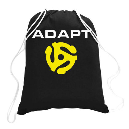 Adapt Drawstring Bags Designed By S4nty