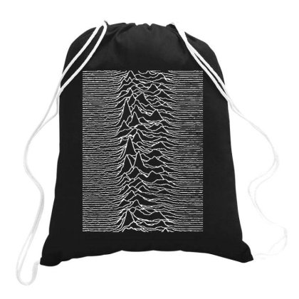 Unknown Pleasures Drawstring Bags Designed By Kimochi