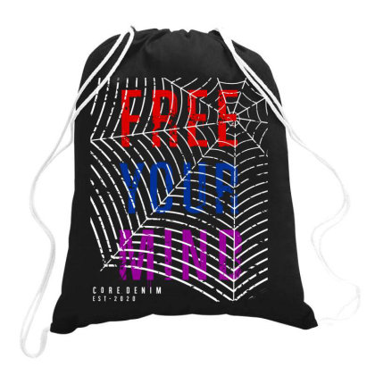 Motivational Inspirational Words Quotes Lettering Typography  T Shirt Drawstring Bags Designed By D2putri