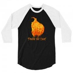 Knight Praise The Sun 3/4 Sleeve Shirt | Artistshot