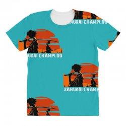 samurai champloo japanese anime manga All Over Women's T-shirt | Artistshot