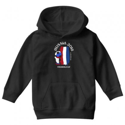 France National Team Youth 2018 Fifa World Cup Youth Hoodie