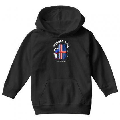Iceland National Team Youth 2018 Fifa World Cup Youth Hoodie