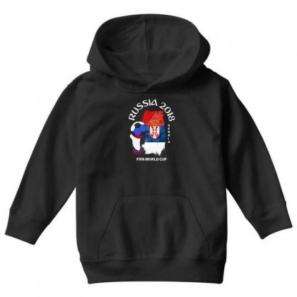 Serbia National Team Youth 2018 Fifa World Cup Youth Hoodie