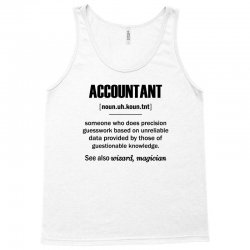 Accountant Gifts - Accountant Definition Tank Top | Artistshot
