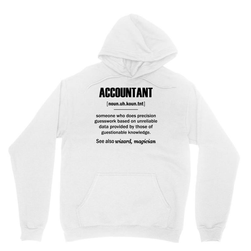 Accountant Gifts - Accountant Definition Unisex Hoodie | Artistshot