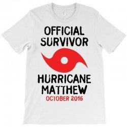 Official Survivor Hurricane Matthew T-Shirt | Artistshot