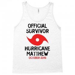 Official Survivor Hurricane Matthew Tank Top | Artistshot