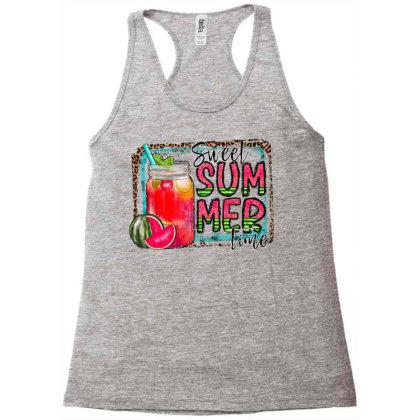 Sweet Summer Time Racerback Tank Designed By Badaudesign