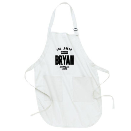 Bryan Personalized Name Full-length Apron Designed By Chris Ceconello