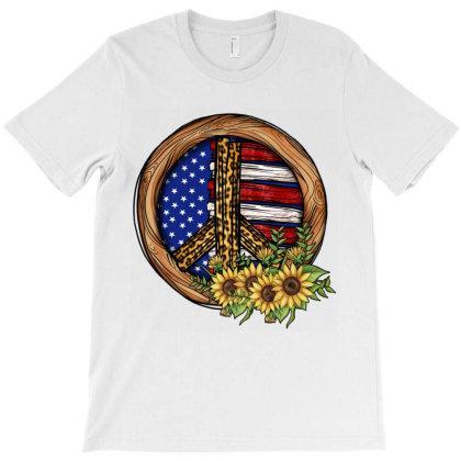 Peace Sign T-shirt Designed By Jahusdesignshop