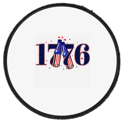Cheers To 1776 Round Patch Designed By Akin
