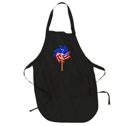 Independence Day Wind Vane Full-length Apron Designed By Akin
