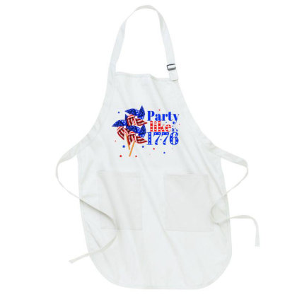 Party Like It's 1776 Full-length Apron Designed By Akin