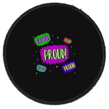 Proud! Round Patch Designed By Akin
