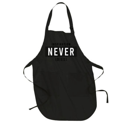 Motivational Inspirational Words Quotes Lettering Typography  T Shirt Full-length Apron Designed By D2putri