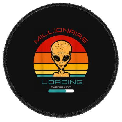 Blockchain Or Crypto Or Etherum Millionaire Or Alien Bitcoin Round Patch Designed By Koopshawneen
