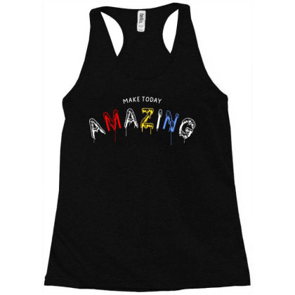 Motivational Inspirational Words Quotes Lettering Typography  T Shirt Racerback Tank Designed By D2putri