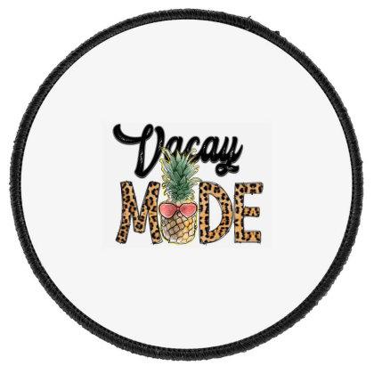 Vocay Mode Round Patch Designed By Badaudesign