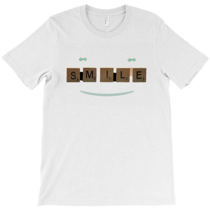Smile T-shirt Designed By Artefact33