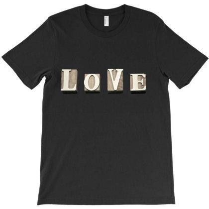 Love T-shirt Designed By Artefact33