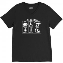 evil ratings V-Neck Tee | Artistshot