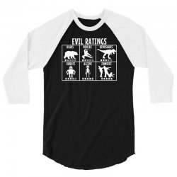 evil ratings 3/4 Sleeve Shirt | Artistshot