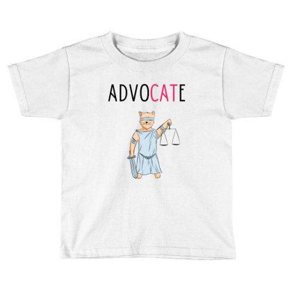 Advocate Illustration Toddler T-shirt Designed By Cypryanus