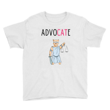 Advocate Illustration Youth Tee Designed By Cypryanus
