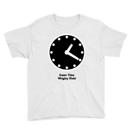Good Time Clock Is Chicago Youth Tee Designed By Hot Maker