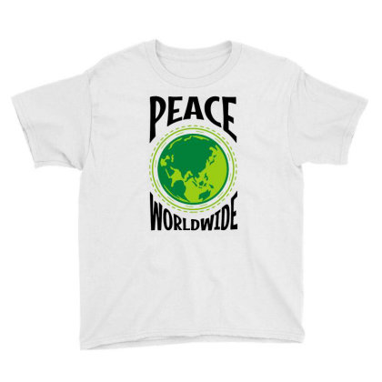 World Peace Youth Tee Designed By Hot Maker