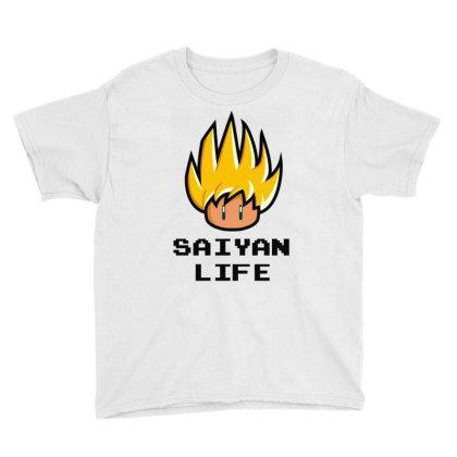 Saiyan Life Youth Tee Designed By Toldo