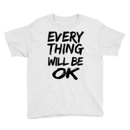 Motivation Positive Quotes Youth Tee Designed By Jior