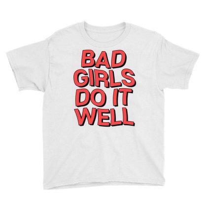 Bad Girls Youth Tee Designed By Saphira Nadia