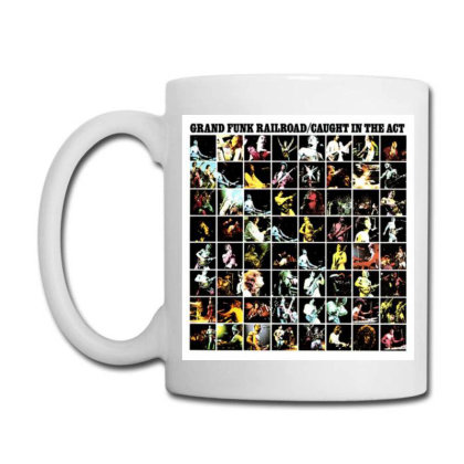 Grand Funk Railroad Rock Retro Coffee Mug Designed By Jior