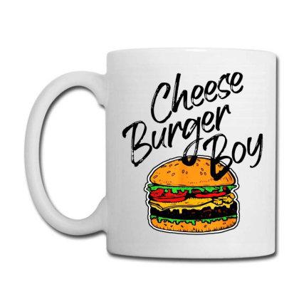 Cheese Burger Boy   Burger Lover Coffee Mug Designed By Scarlettzoe