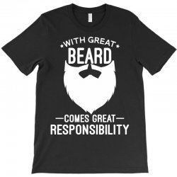 With Great Beard T-Shirt | Artistshot