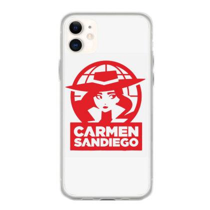 Carmen Sandiego Iphone 11 Case Designed By Scarlettzoe