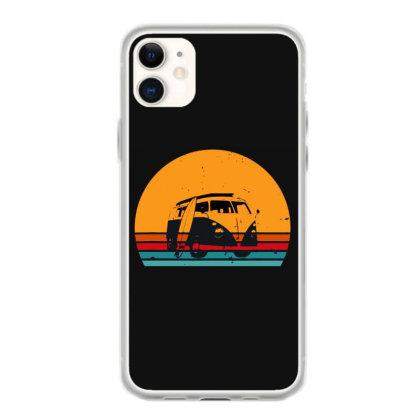 Camping Camper Retro Iphone 11 Case Designed By Scarlettzoe