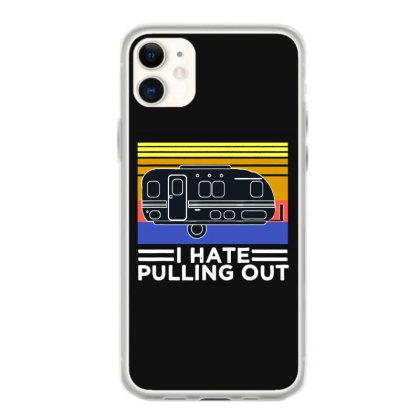 Camping I Hate Pulling Out Retro Travel Iphone 11 Case Designed By Scarlettzoe