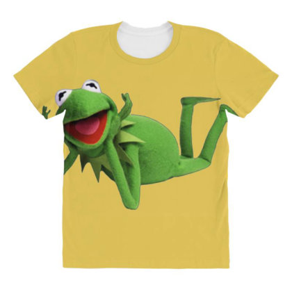 Little Frog All Over Women's T-shirt Designed By Saphira Nadia