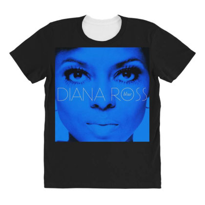 Diana Ross All Over Women's T-shirt Designed By Accel900101