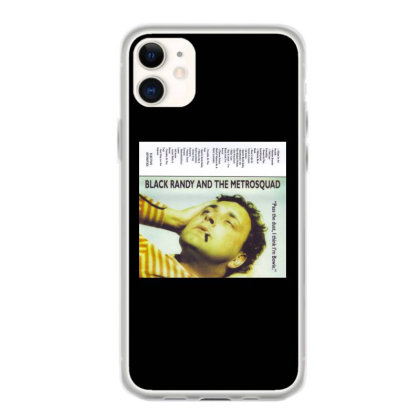 Black Randy And The Iphone 11 Case Designed By Jior