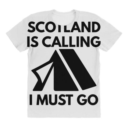 Scotland Is Calling I Must Go All Over Women's T-shirt Designed By Blackacturus